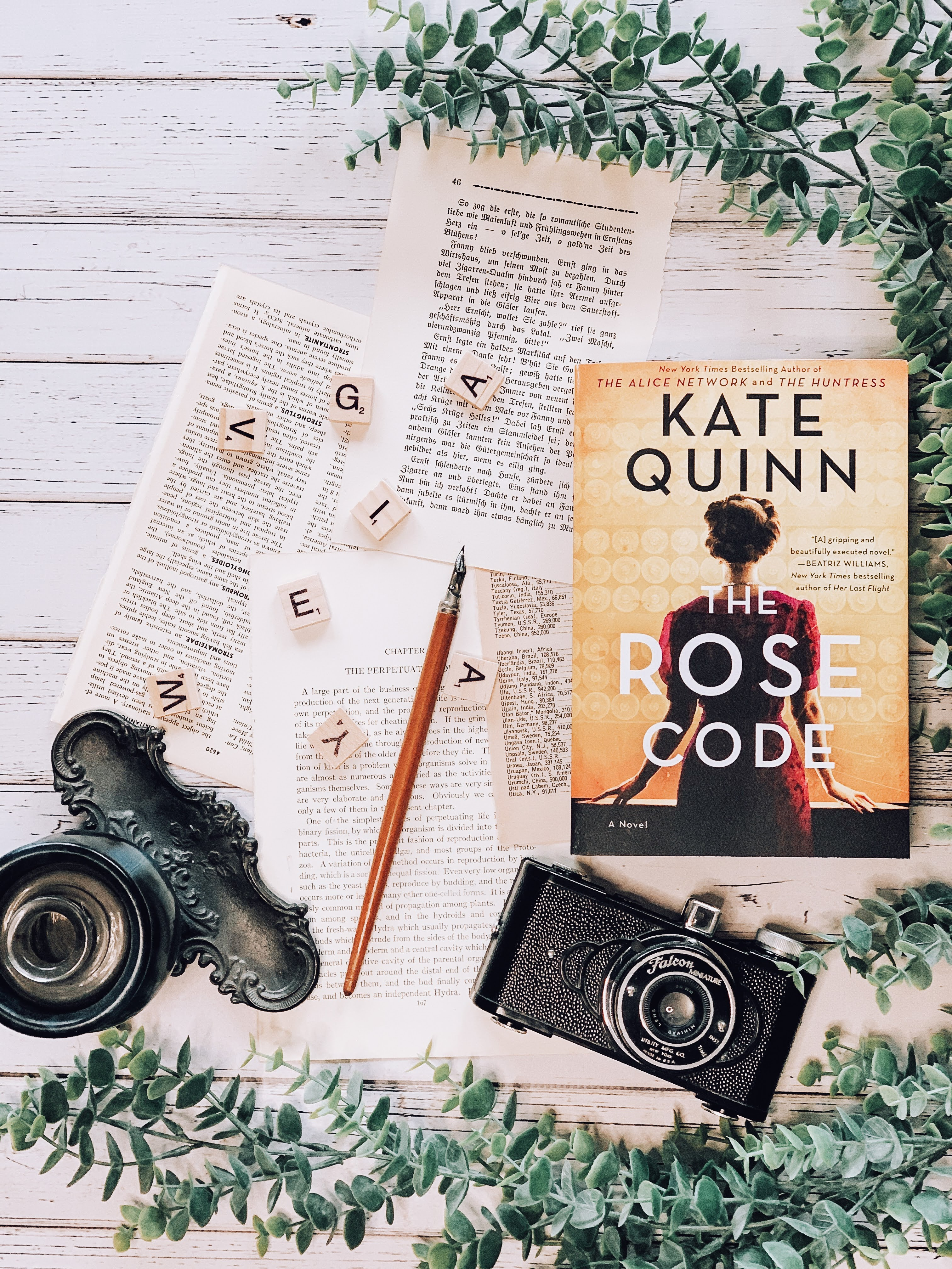 Virtual Reading Cafe Book Club: The Rose Code by Kate Quinn