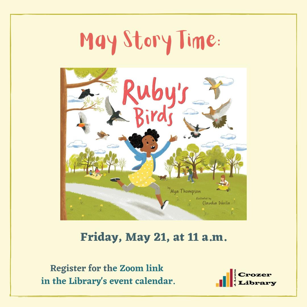 Story Time - Community Reads:  Ruby's Birds