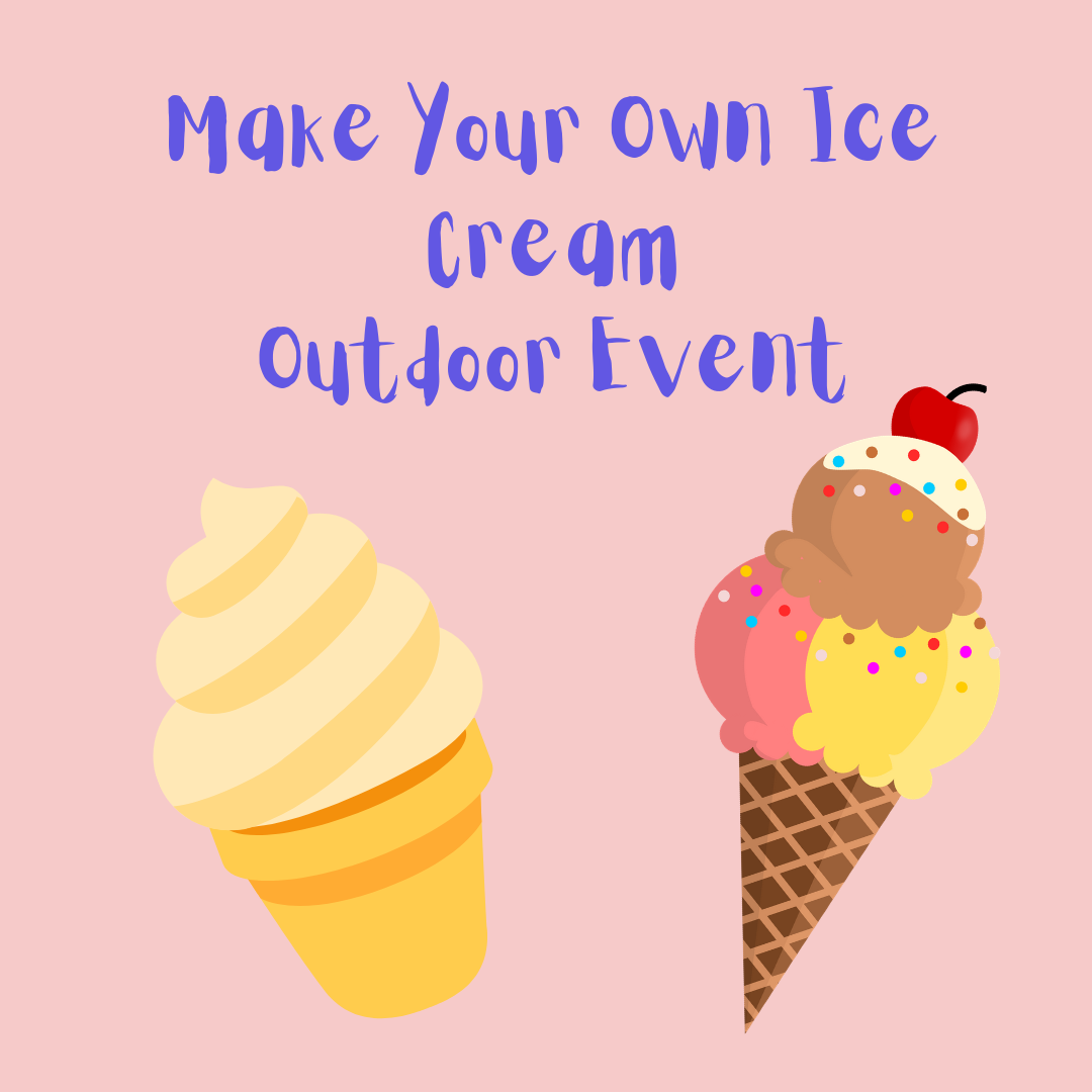 Make Your Own Ice Cream Outdoors