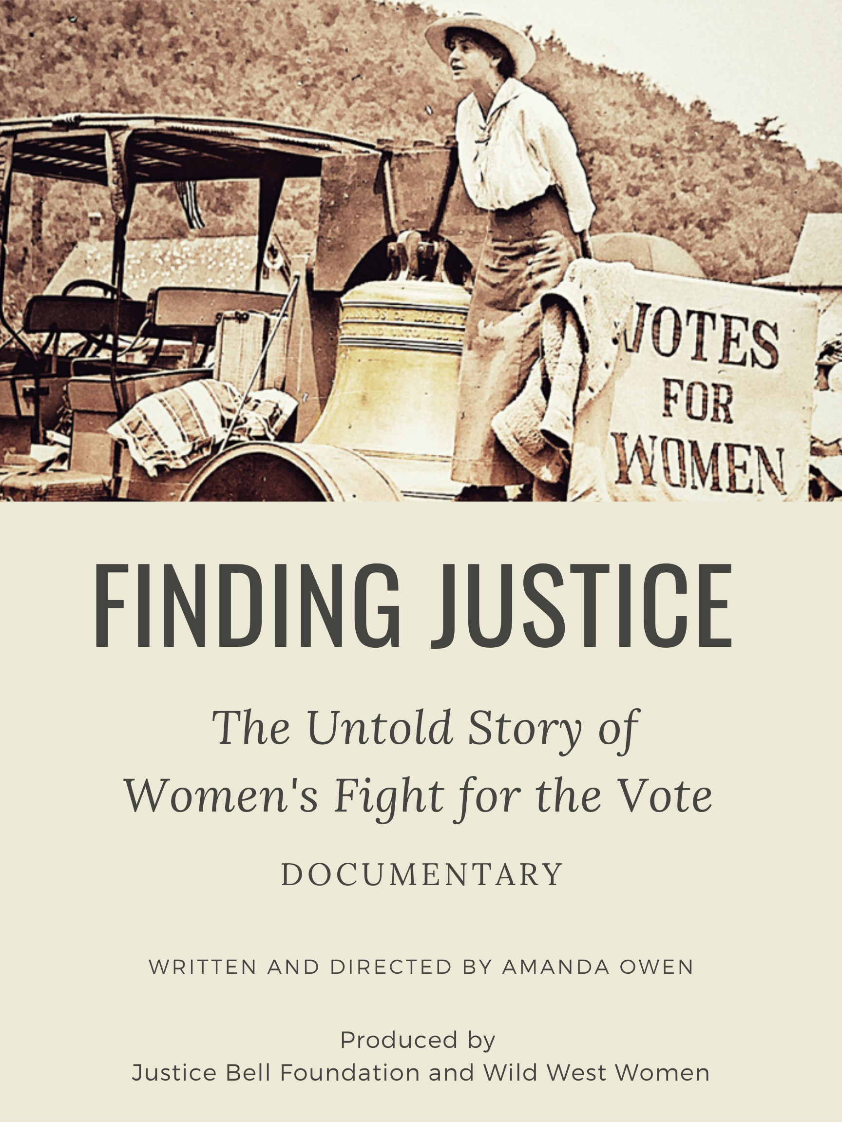 Finding Justice: The Untold Story of Women's Fight for the Vote (Movie Screening & Q&A)