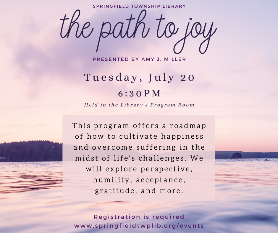 The Path to Joy presented by Amy J. Miller