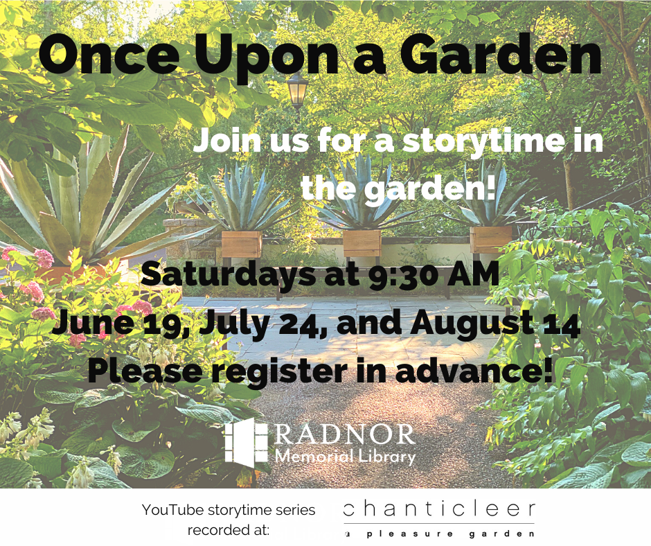 Once Upon a Garden: Storytime at Chanticleer