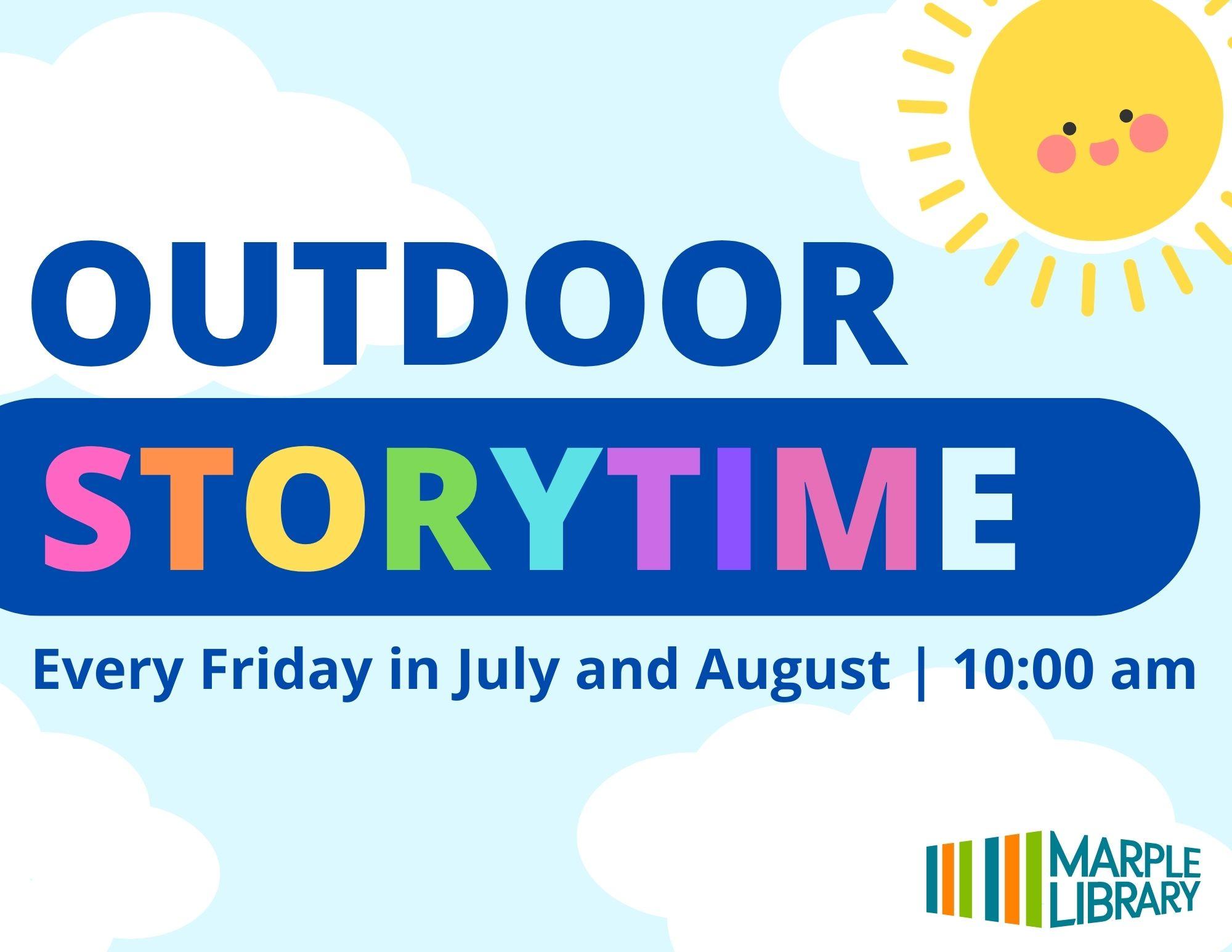 Outdoor Storytime @ Veterans Memorial Park
