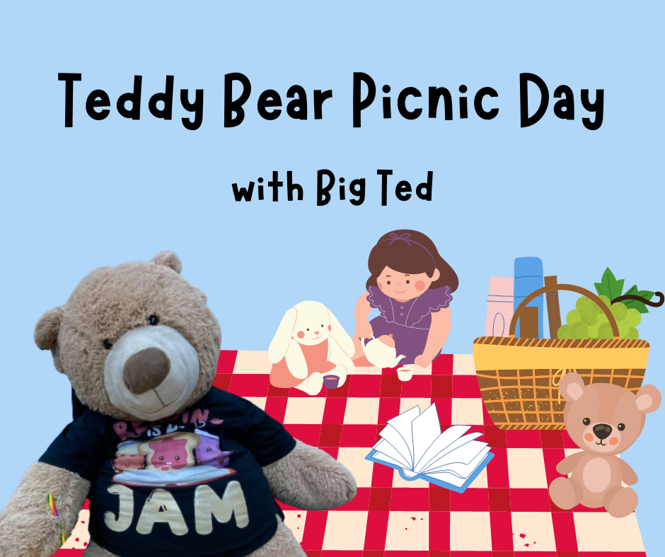 Teddy Bear Picnic Day with Big Ted