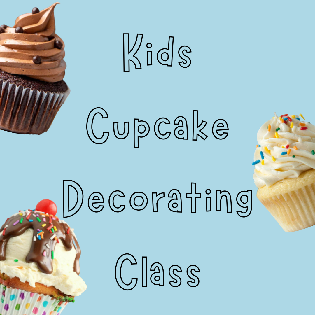 Kids Cupcake Decorating Class w/ Chef Dad's Table