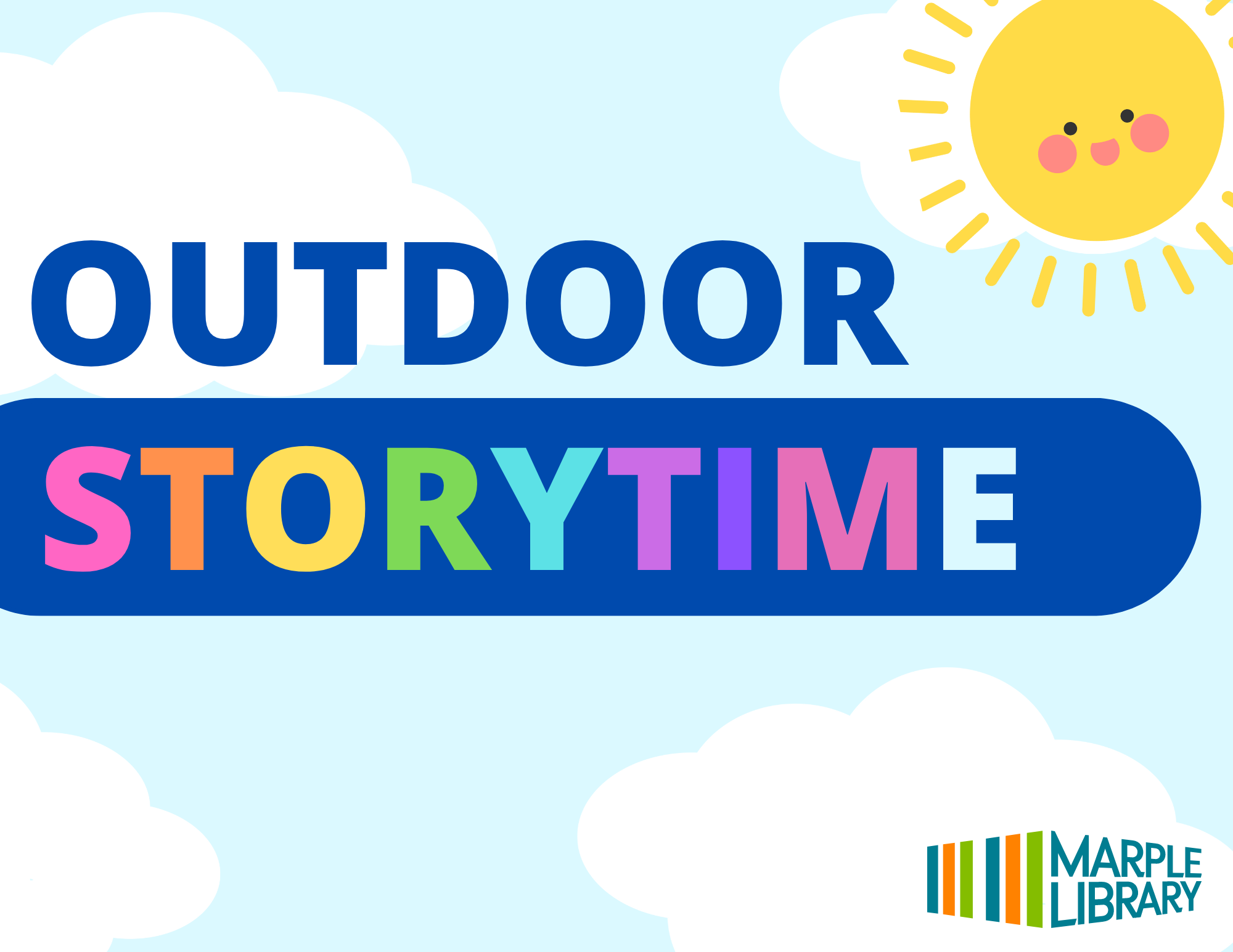 Storytime to Celebrate National Library Card Sign-Up Month!