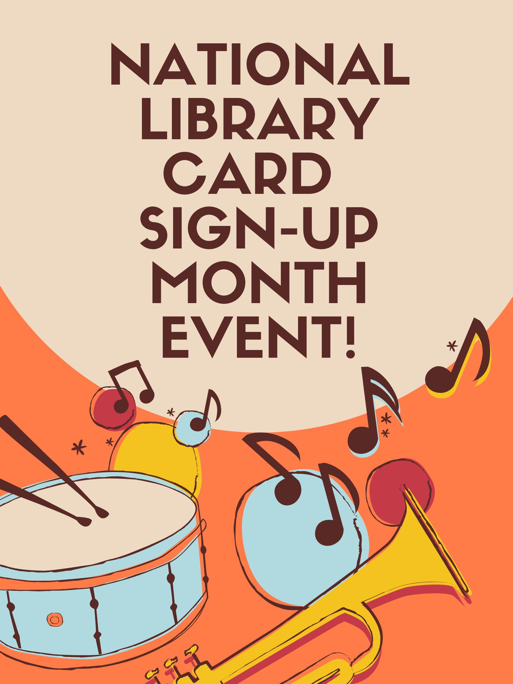 National Library Card Sign-Up Month Event!