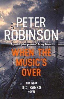 British Mysteries Book Club - When the Music's Over by Peter Robinson