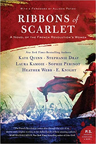 Reading Cafe Book Club: Ribbons of Scarlett: A Novel of the French Revolution's Women by Kate Quinn and Stephanie Dray