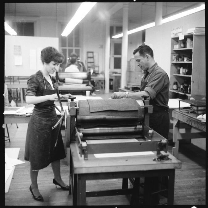 Celebrating Pratt's Printmaking History
