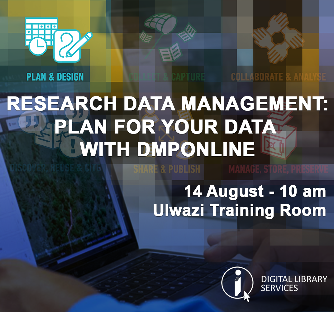 Research Data Management:  Plan for your Data with DMPonline