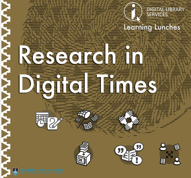 Research in Digital Times: Intro to Research Data Management