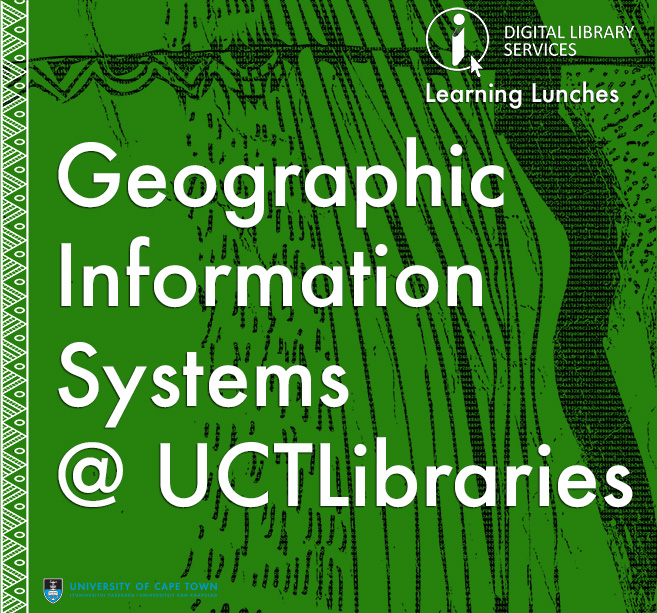 GIS@UCTL: Accessing and Managing Spatial Data