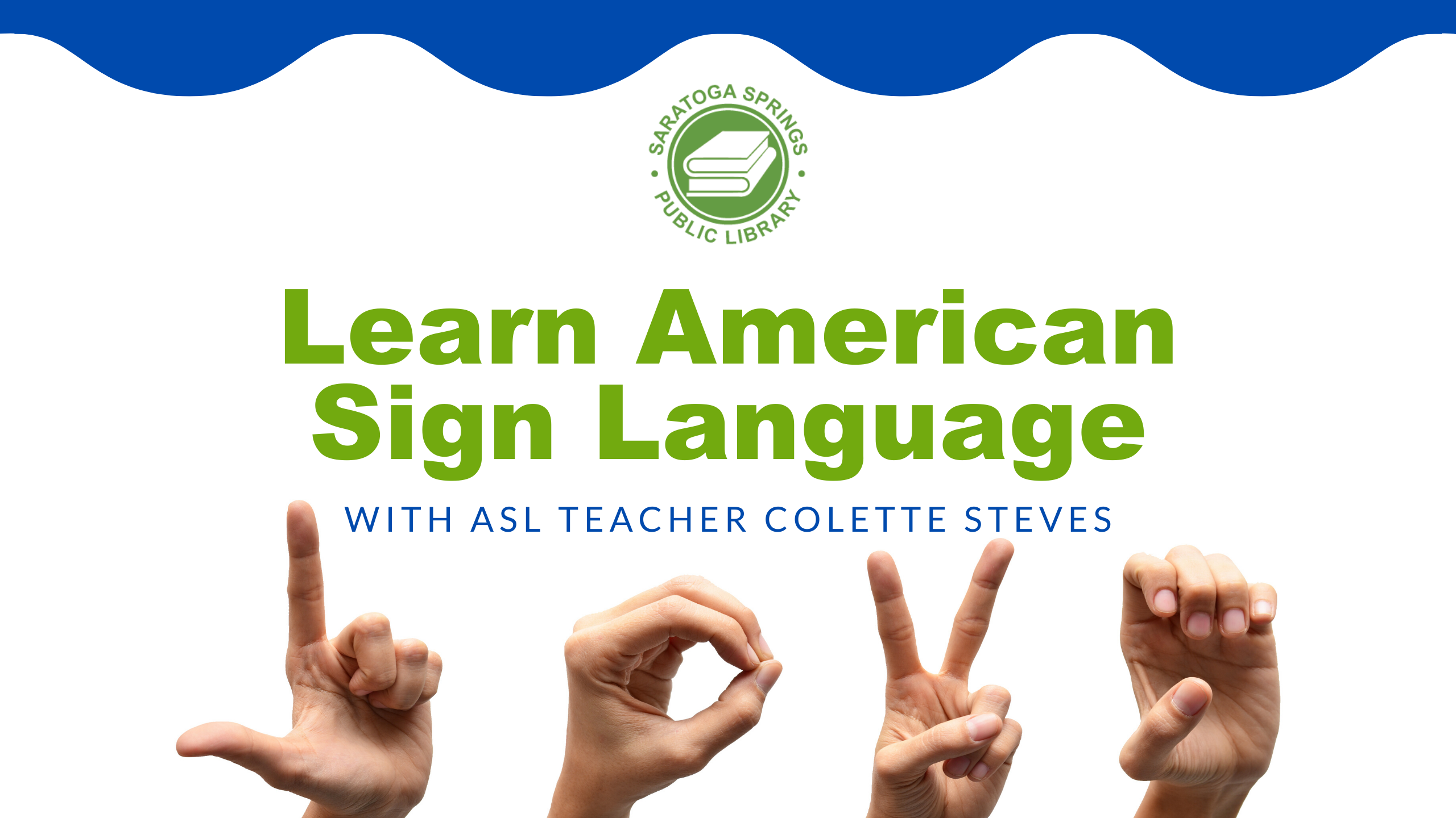 Intro to American Sign Language (ASL) - Online