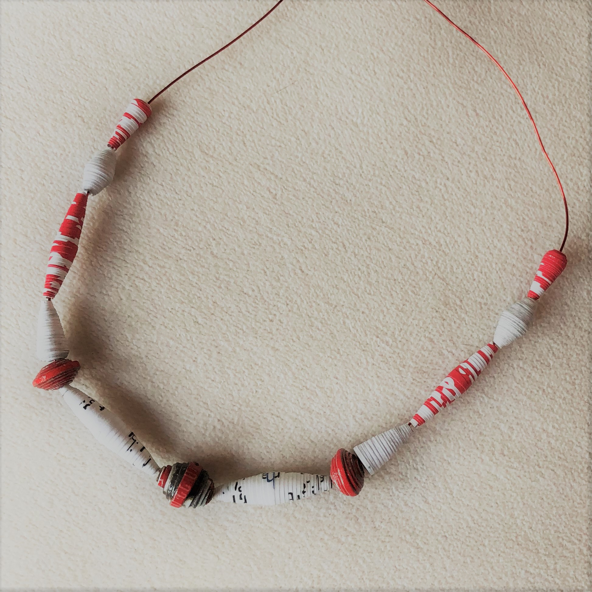 Crafting from Home: Paper Beads - Online
