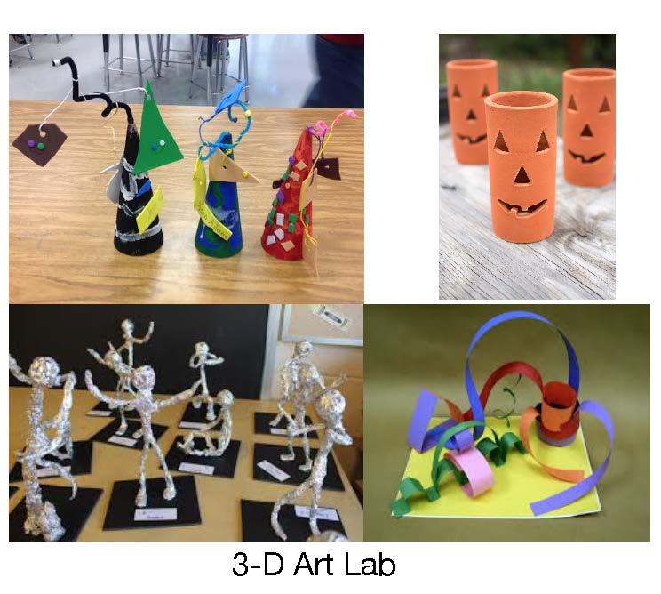 3-D Art Lab with C.R.E.A.T.E. Studios via Zoom