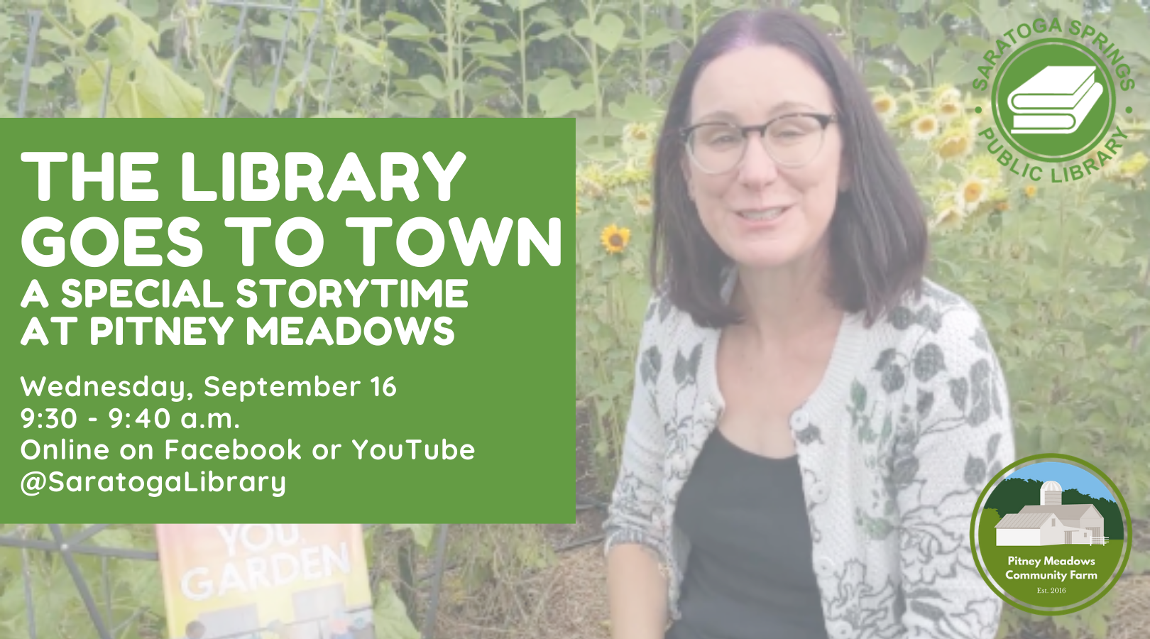 Library Goes to Town (Virtually) at Pitney Meadows