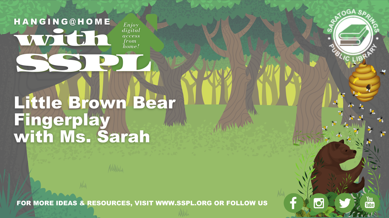 A Little Brown Bear Fingerplay and Activity Kit