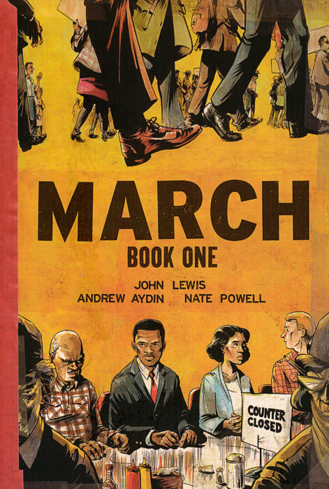 March Book One, by Rep. John Lewis - Graphic Novel Discussion - A SaratogaREADS! Inspired Event
