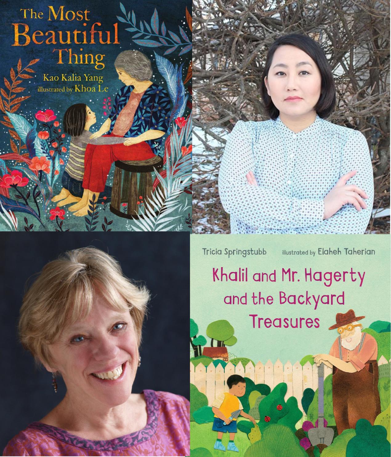 Saratoga Book Festival Online: Kao Kalia Yang and Tricia Springstubb in Conversation