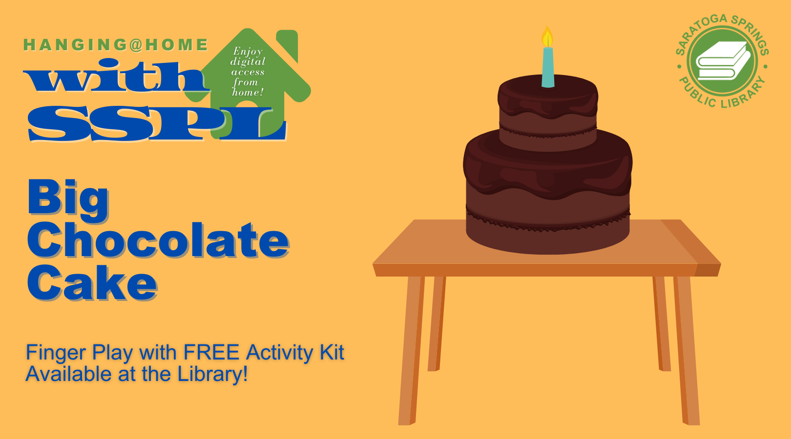 Big Chocolate Cake Finger Play and Activity Kit