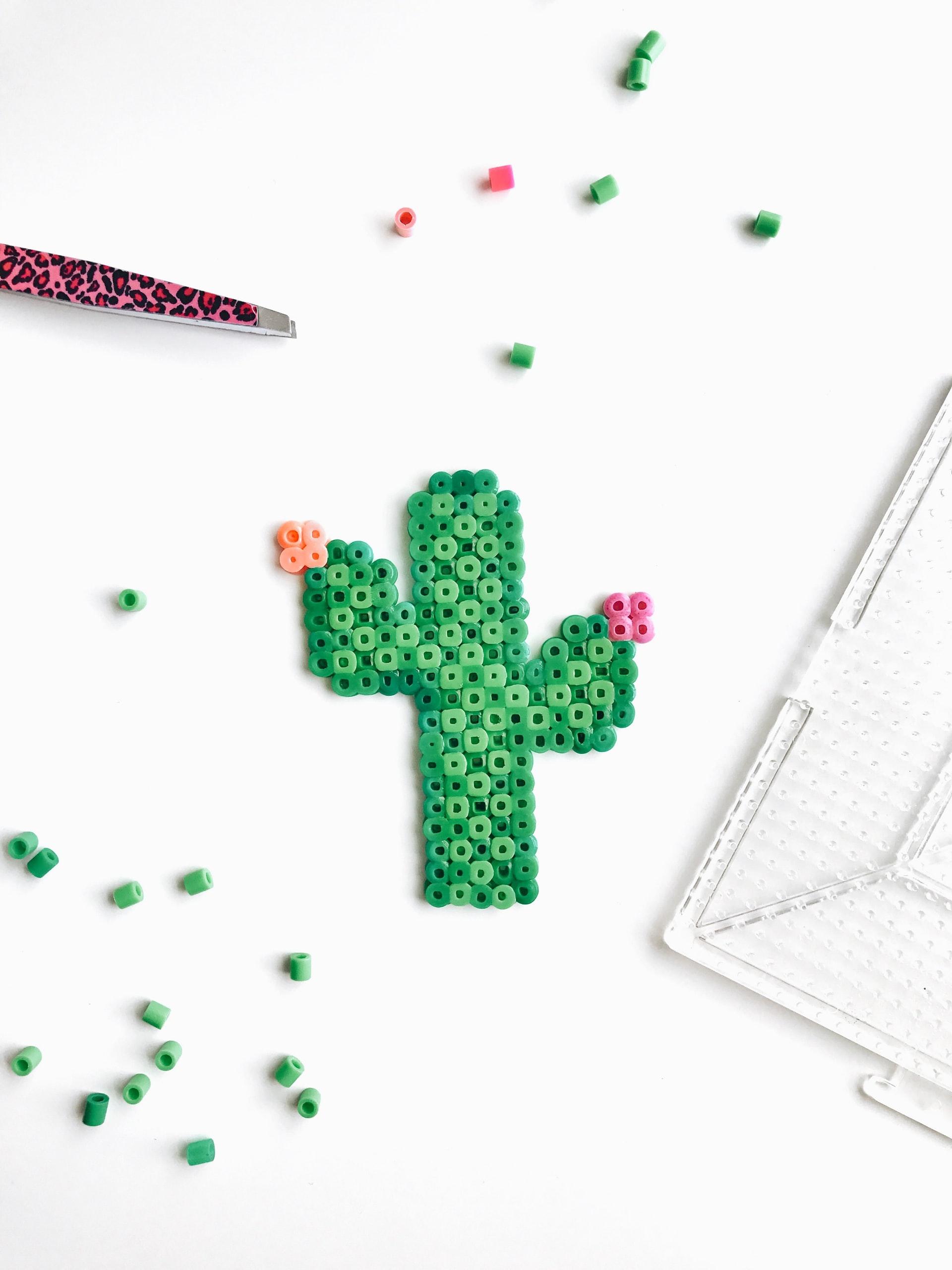 Pop-Up Art on the Patio: Perler Beads