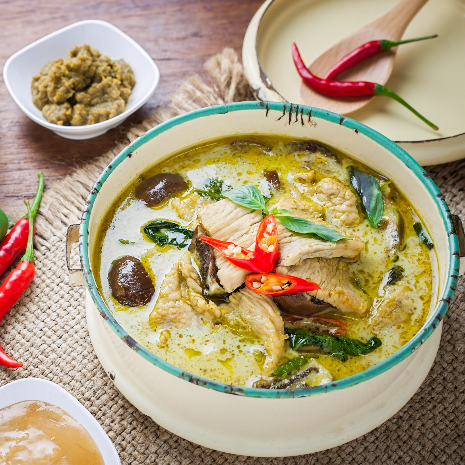 Cook with Us!  Thai Curry