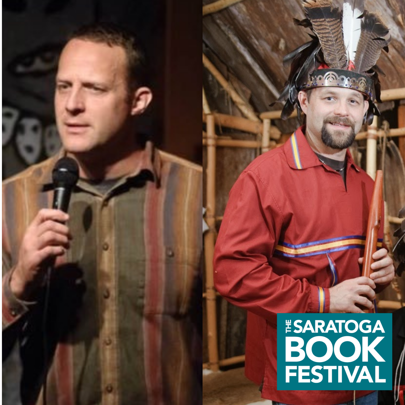 Saratoga Book Festival: Children's Storytelling Hour with James and Jesse Bruchac
