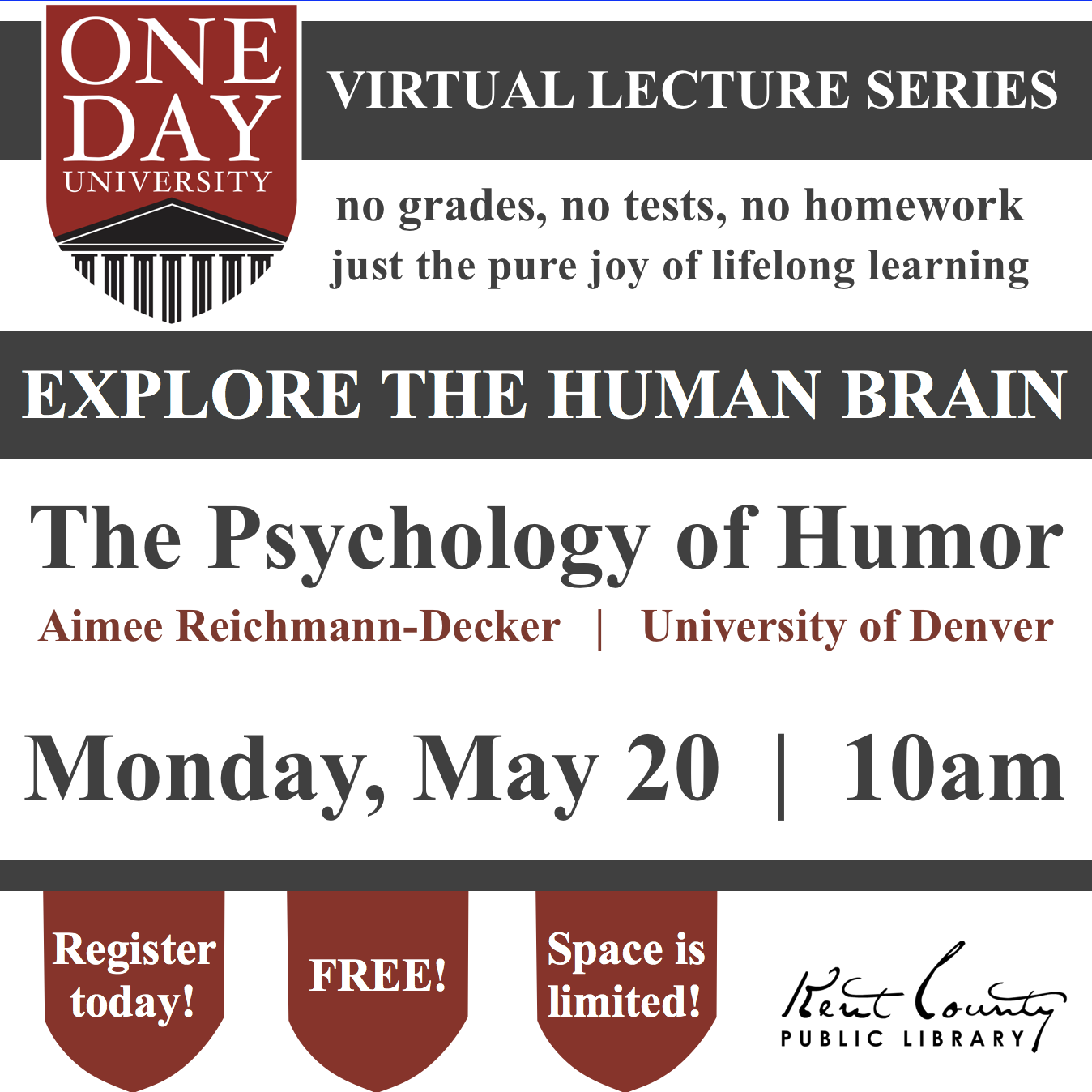 One Day University: The Psychology of Humor