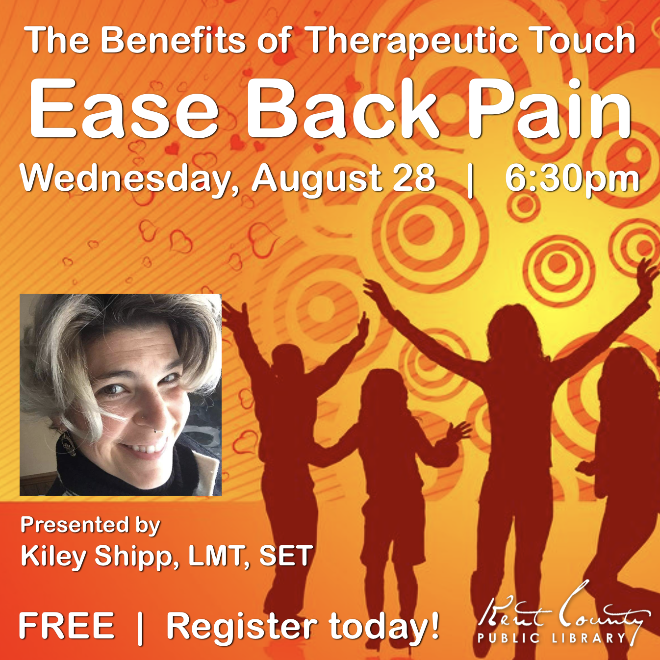 Ease Back Pain - Part 3 of The Benefits of Therapeutic Touch Series