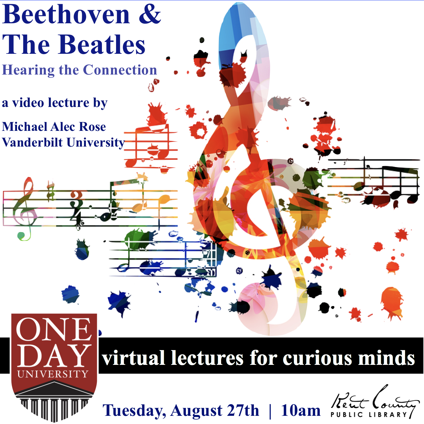 One Day University - Beethoven and The Beatles: Hearing the Connection