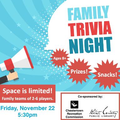 CANCELED - Family Trivia Night