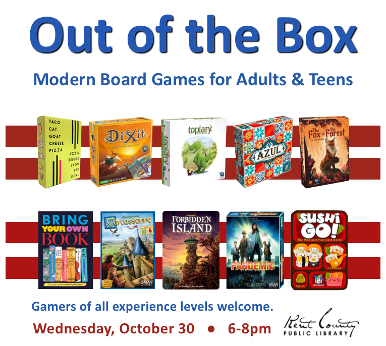 Out of the Box: Modern Board Games for Adults and Teens