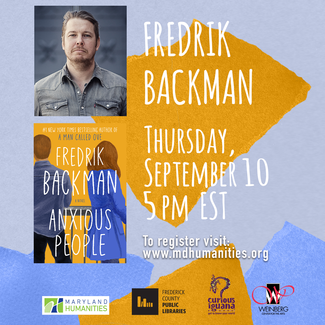 Author Event: Fredrik Backman Discusses Anxious People