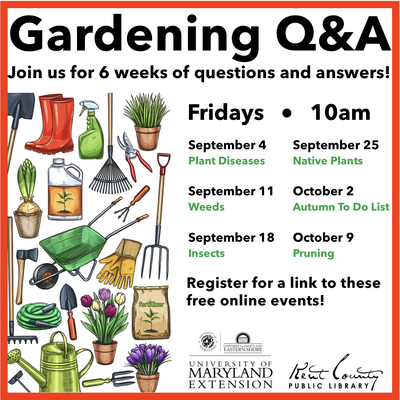 Plant Diseases - Gardening Q&A with University of Maryland Extension, Kent County
