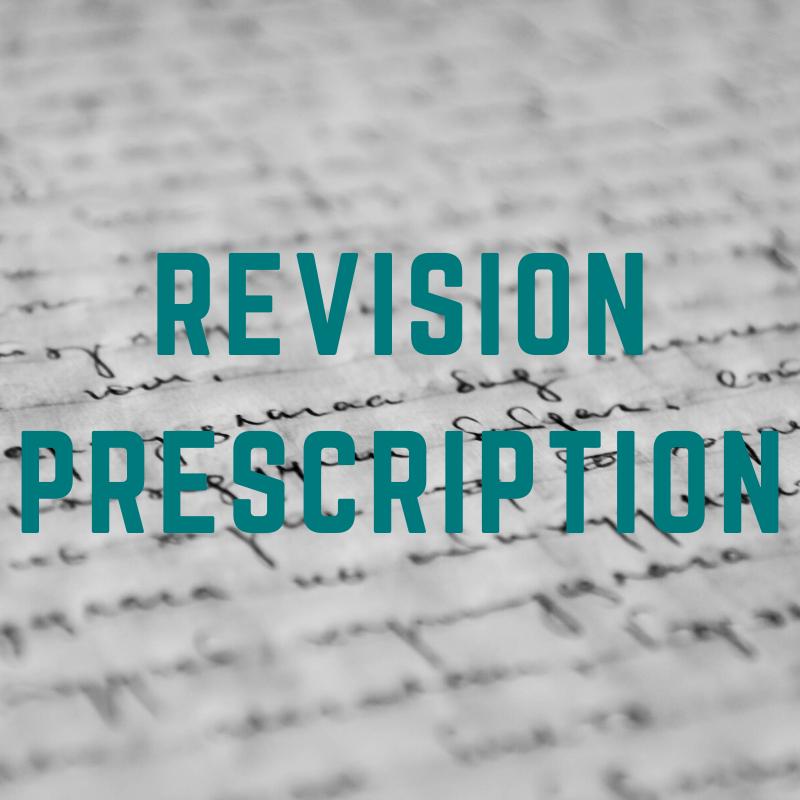 Revision Prescription