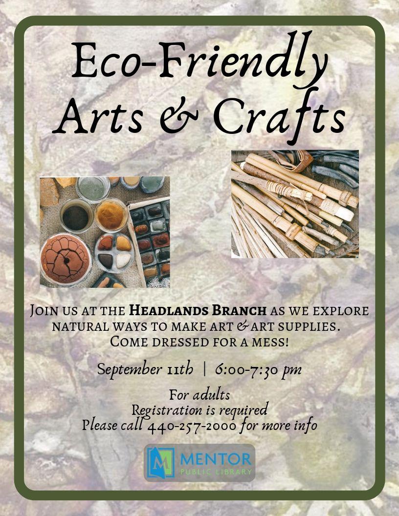 Eco-Friendly Arts & Crafts