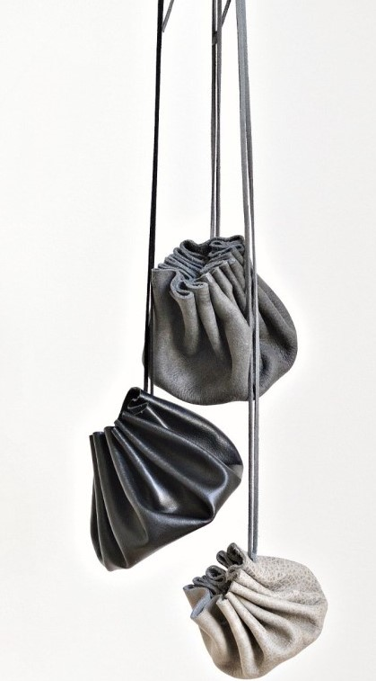 (Canceled) Faux Leather Drawstring Coin Pouch