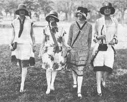 America in the 1920's: Women's Suffrage, Fashion and Health