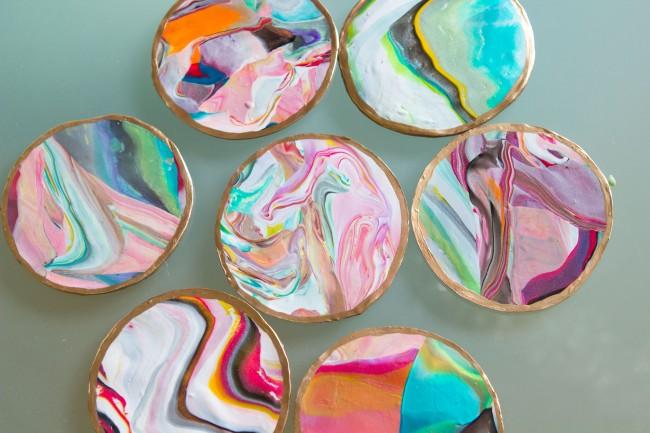 Take and Make Craft (@Main): Marble Coasters