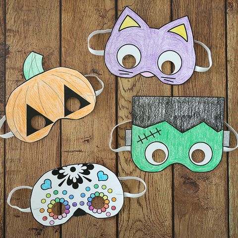 Take and Make Craft @ Lake: Halloween Mask