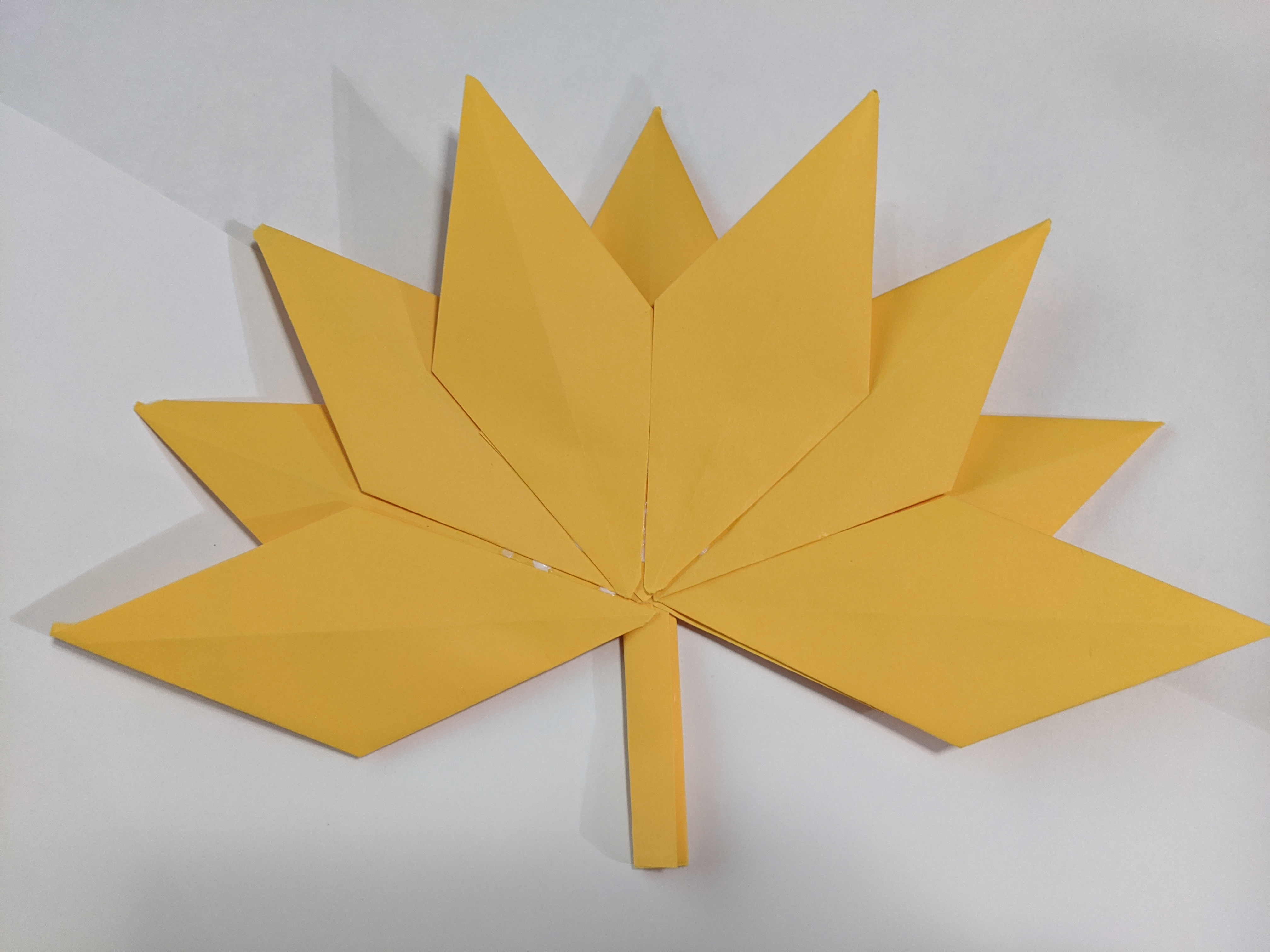 Holiday Origami: Fall Leaves