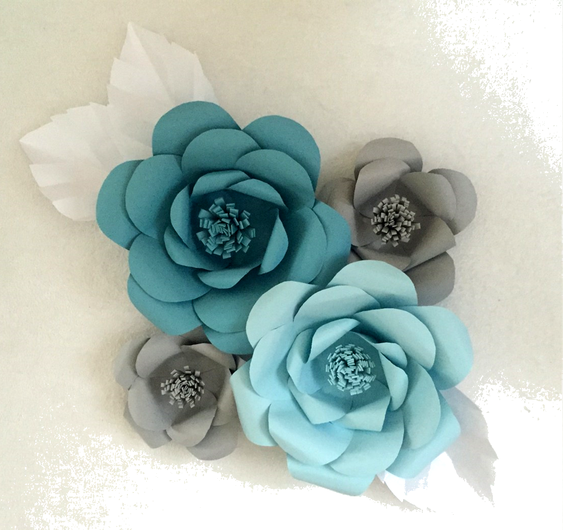 Decorative Paper Wall Flower