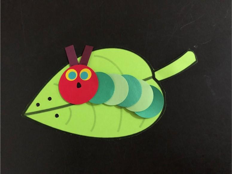 Preschool Take and Make - Hungry Caterpillar Craft