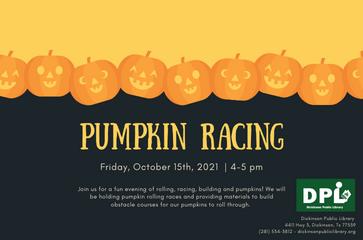 Pumpkin Racing