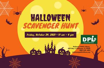 Children's Halloween Scavenger Hunt