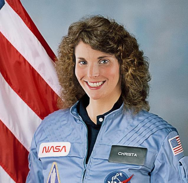 Challenger: Soaring with Christa McAuliffe