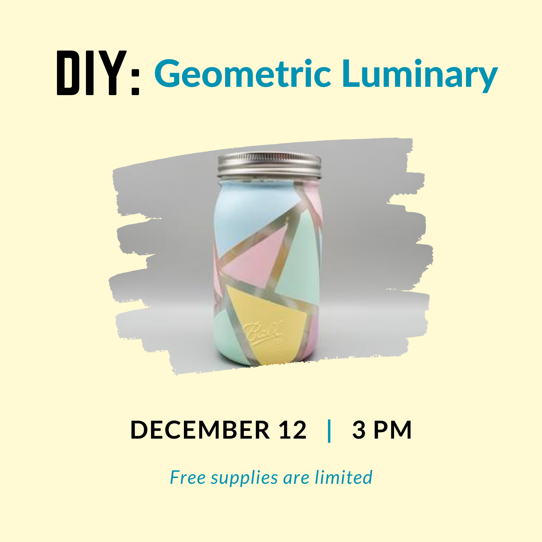 DIY: Geometric Luminary