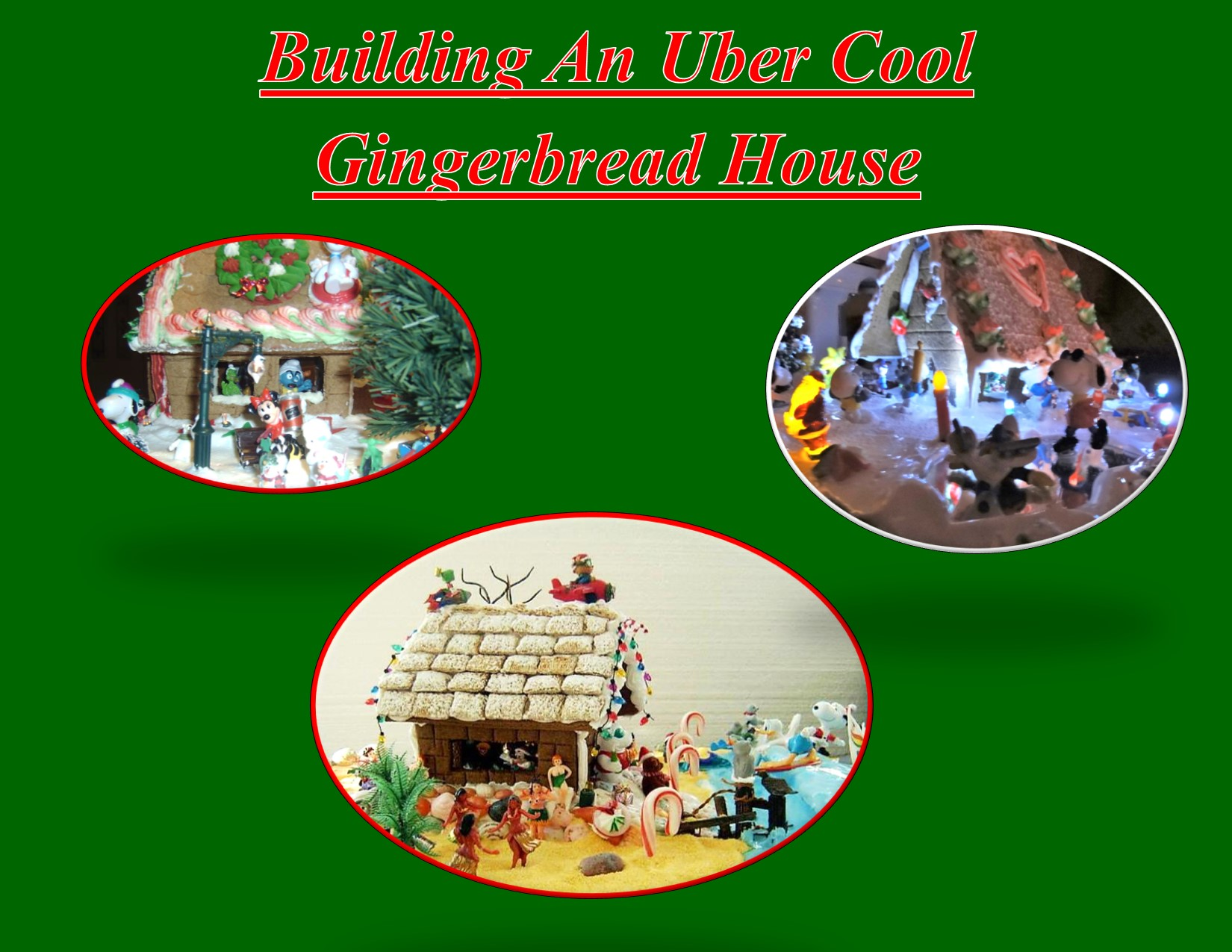 Uber Cool Gingerbread Houses with Chef Michael Niksic