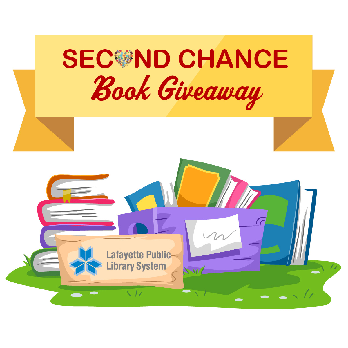 Second Chance Book Giveaway: South Regional Library
